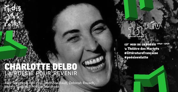 Charlotte Delbo La Poésie Pour Revenir